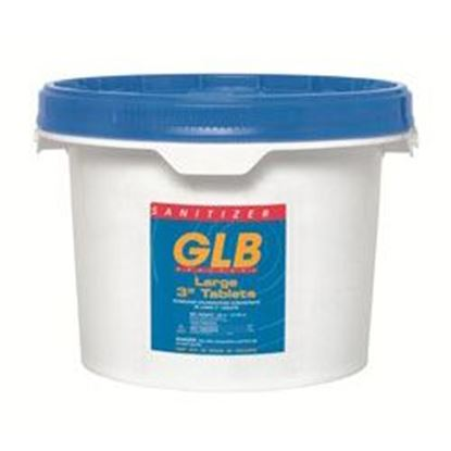 Picture of Glb 3 In. Tablets 25lb Bucket -Unwrapped Gl71234