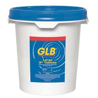 Picture of Glb 3 In. Tablets 50lb Bucket -Unwrapped Gl71236