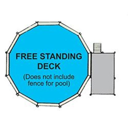 Picture of Free Standing Deck 3 Ft X5 Ft X52 In. Swpfs3x5x52