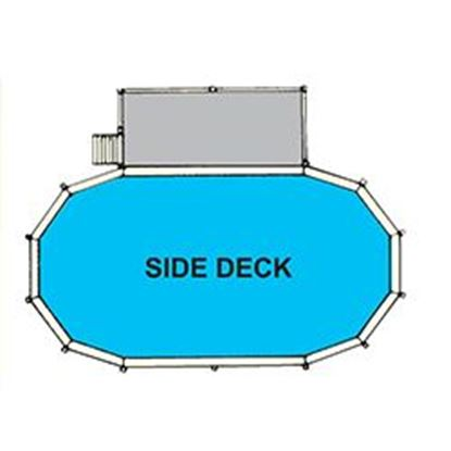 Picture of Side Deck & Fence For 18 Ft X 45 Ft Swpsd451852