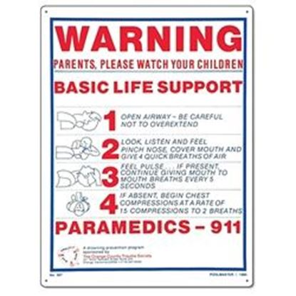Picture of SIGN - BASIC LIFE SUPPORT PM40367