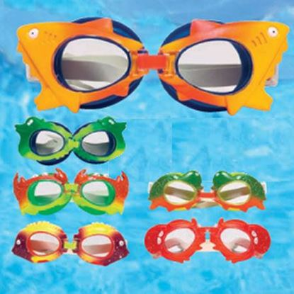 Picture of ANIMAL FRAME CHILD GOGGLES-AST PM94200