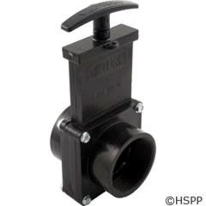 "Picture of Black Gate Valve 3 Pc Valterra 2""fpt X 2""fpt 40psi 7207"
