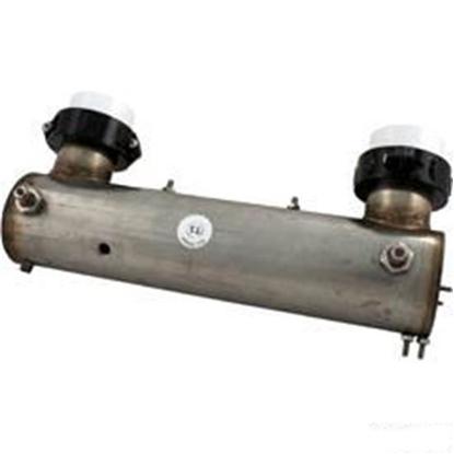 """Picture of B21100-3000 Heater U Shape Lowflow Elektra Repl 12"""" X 3"""" 230v 11.0kw Gen"""