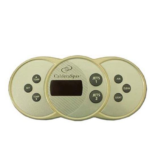 Picture of 74903 Control Panel Caldera 2 Pump W/Air Utopia - Paradise 2002 +